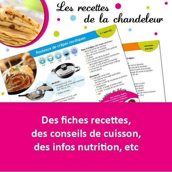 Recettes de la chandeleur par Solveig-7 recettes de crêpes en PDF