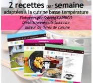 104 Recettes saines :  Abonnement Cuisinez-Juste